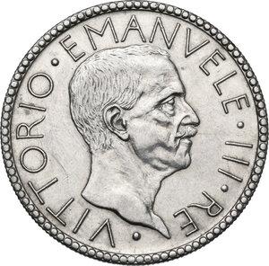 obverse: Vittorio Emanuele III (1900-1943).. 20 Lire A. VI, 1928