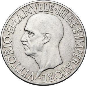 obverse: Vittorio Emanuele III (1900-1946).. 20 Lire 1936, A. XIV