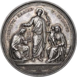 reverse: Pio IX  (1846-1878), Giovanni Mastai Ferretti.. Medaglia annuale, A. XXXI