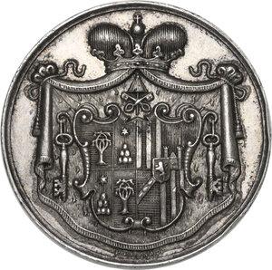 obverse: Sede Vacante (1903). Medaglia 1903 emessa dal Maresciallo del Conclave Principe Mario Chigi