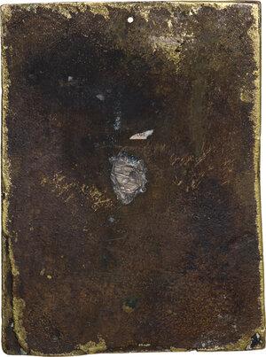 reverse: Compianto sul Cristo morto. Placchetta, secondo quarto del XVI sec. Ambito emiliano (o lombardo)