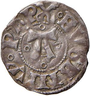 obverse: Ascoli. Eugenio IV (1431-1447). Bolognino AG gr. 0,95. Muntoni 25 var. I. Mazza 89. Berman 310. MIR 312/2. Più di BB