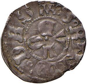 reverse: Ascoli. Eugenio IV (1431-1447). Bolognino AG gr. 0,95. Muntoni 25 var. I. Mazza 89. Berman 310. MIR 312/2. Più di BB