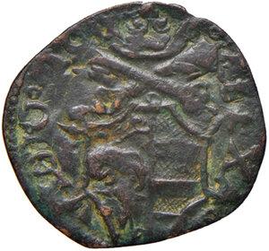 obverse: Ascoli. Alessandro VI (1492-14503). Quattrino o cavallo AE gr. 1,42. Muntoni 28. Mazza 104. Berman 543. MIR 527. BB