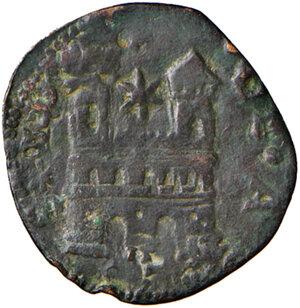 reverse: Ascoli. Alessandro VI (1492-14503). Quattrino o cavallo AE gr. 1,42. Muntoni 28. Mazza 104. Berman 543. MIR 527. BB