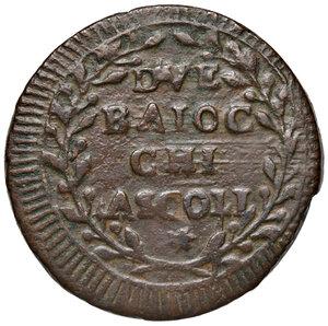 reverse: Ascoli. Repubblica Romana (1798-1799). Da 2 baiocchi AE gr. 14,56. Pagani 16. Muntoni 33. Mazza pag. 94-95. Bruni 7. Rara. BB