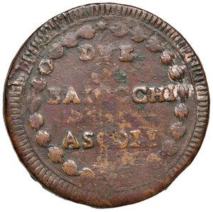 reverse: Ascoli. Repubblica Romana (1798-1799). Da 2 baiocchi AE gr. 15,33. Pagani 14a. Muntoni 28 var. II. Mazza pag. 94-95. Bruni 12. Rarissima. MB