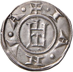 obverse: Genova. Repubblica (1139-1339). Grosso da 6 denari AG gr. 1,68. Lunardi 4. MIR 12. SPL