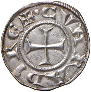 reverse: Genova. Repubblica (1139-1339). Grosso da 6 denari AG gr. 1,68. Lunardi 4. MIR 12. SPL