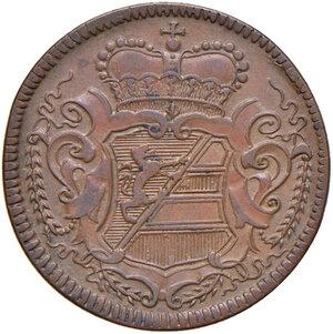 obverse: Gorizia. Carlo VI d'Asburgo imperatore del S.R.I. (1711-1740). Soldo 1733 CU gr. 5,25. CNI 1. Conservazione insolita, SPL
