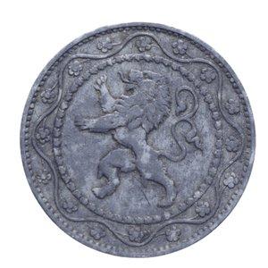 obverse: BELGIO OCCUPAZIONE GERMANIA 25 CENTIMES 1916 6,42 GR. BB+