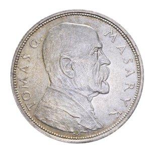 obverse: CECOSLOVACCHIA 10 KORUN 1928 AG. 10,10 GR. SPL+