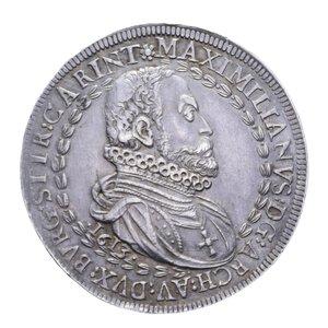 obverse: AUSTRIA MASSIMILIANO III TALLERO 1613 HALL AG. 28,85 GR. SPL