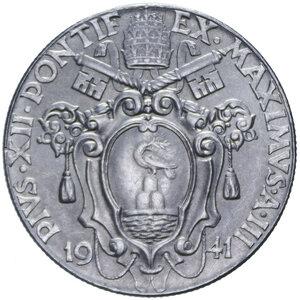 obverse: PIO XII (1939-1958) 2 LIRE 1941 AC. 10,19 GR. FDC