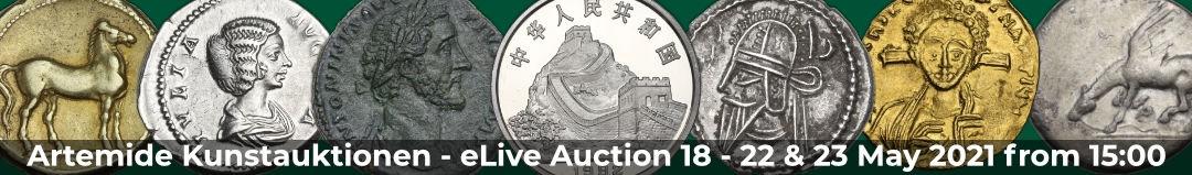 Banner Artemide eLive Auktion 18