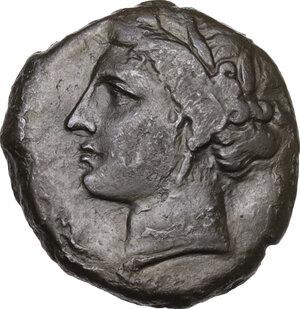 Syracuse.  Hieron II (274-215 BC).. AE 21 mm, c. 275-269/5 BC