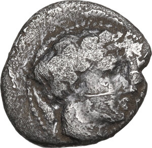 obverse: Central and Southern Campania, Allifae. AR Obol, 325-275 BC
