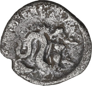 reverse: Central and Southern Campania, Allifae. AR Obol, 325-275 BC