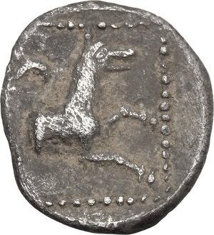 reverse: Lycaonia, Laranda. AR Obol, c. 324/3 BC