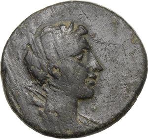 obverse: Lydia, Sardes. AE 23 mm, 2nd-1st century BC