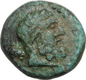 obverse: Pisidia, Selge.. AE 13.5 mm. 2nd-1st century BC