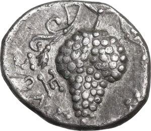 reverse: Cilicia, Soloi. AR Obol, 386-333 BC