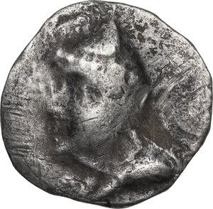 obverse: Kings of Parthia.  Phriapatios to Mithradates I (c. 185-132 BC). AR Drachm, Hekatompylos Mint