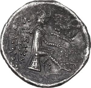 reverse: Kings of Parthia.  Phraates II (132-127 BC). AR drachm, Tambrax mint