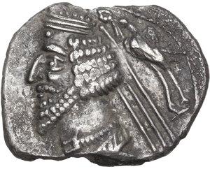 obverse: Kings of Parthia.  Phraates IV (38-32 BC).. AR Drachm