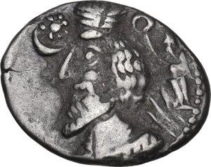 obverse: Kings of Parthia.  Phraates IV (38-32 BC).. AR Drachm, Mithradatkart mint