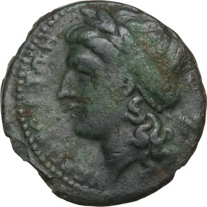 obverse: Central and Southern Campania, Neapolis. AE 18 mm, 275-250 BC