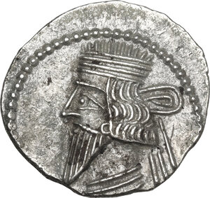 obverse: Kings of Parthia.  Pakoros I (78-120).. AR Drachm, Ekbatana mint