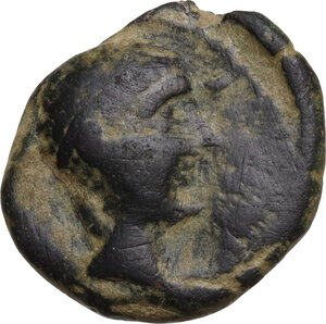 obverse: Iberia, Castulo. AE Half Unit-Semis, early 1st century BC