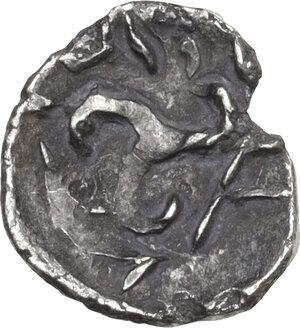 reverse: Persis.  Pakor I (1st cent. AD). AR Obol