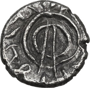 reverse: Persis.  Uncertain king (1st cent. BC - 1st cent. AD).. AR Hemidrachm