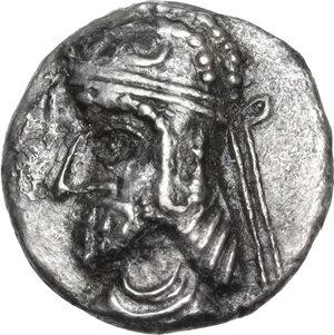 obverse: Persis.  Uncertain king (1st cent. BC - 1st cent. AD).. AR Hemidrachm