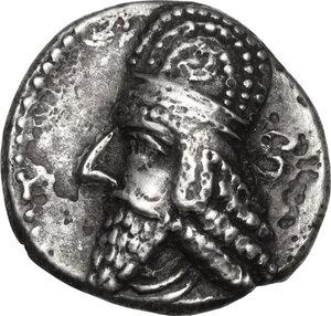 obverse: Persis.  Vadfradad IV  (c. 1st cent. AD). AR Drachm