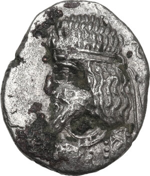 obverse: Persis.  Artaxerxes III (1st-2nd cent. AD). AR Drachm