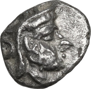 obverse: Persis.  Uncertain king (2nd cent. AD).. AR Obol
