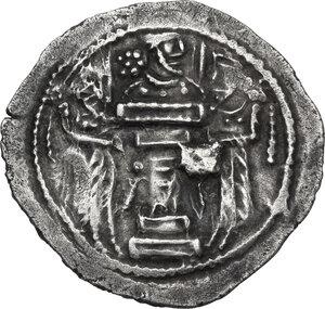 reverse: Sasanian Empire.  Shapur III (383-388). AR Drachm