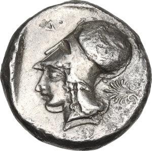 reverse: Corinthia, Corinth. AR Stater, 430-415 BC