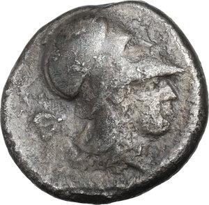 reverse: Corinthia, Corinth. AR Stater, c. 405-345 BC