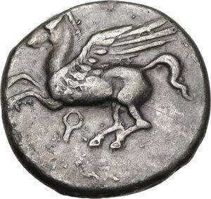 obverse: Corinthia, Corinth. AR Stater, 375-300 BC