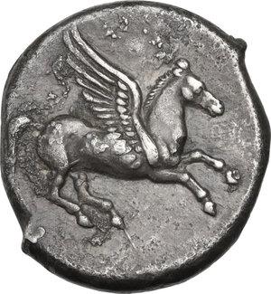 obverse: Illyria, Dyrrhachium. AR Stater, after 350 BC
