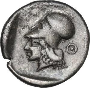 reverse: Akarnania, Leukas. AR Stater, c. 450/35-380/60 BC