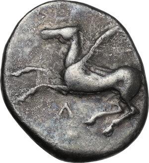 obverse: Akarnania, Leukas. AR Stater, c. 390-380 BC