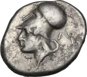 reverse: Akarnania, Leukas. AR Stater, c. 350-320 BC