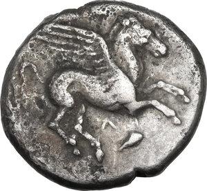 obverse: Akarnania, Leukas. AR Stater, c. 350-320 BC