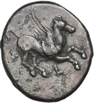 obverse: Akarnania, Leukas. AR Stater, c. 320-280 BC