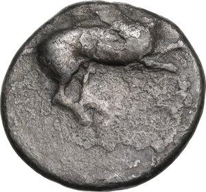 obverse: Epeiros, Ambrakia. AR Stater, c. 426-404 BC